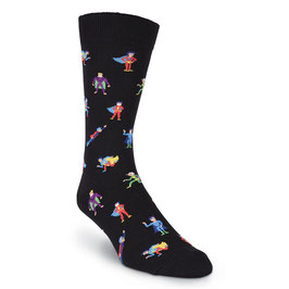 Super Heroes Crew Socks