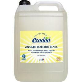VINAIGRE D'ALCOOL BLANC 12%  5 litres