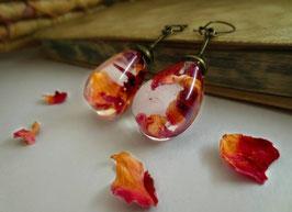 Orecchini Vintage Petali di Rosa