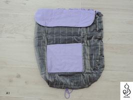 Cover universale per fasce porta bebè, bei dai e strutturati con imbottitura media o pesante