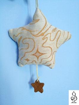 Little Star - gioco in stoffa e legno naturale
