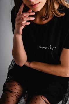 shirt #ammehoela zwart