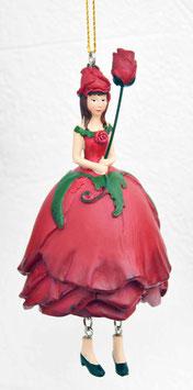 Rosen-Mädchen rot