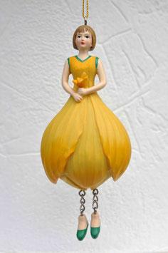 Krokus gelb-Mädchen