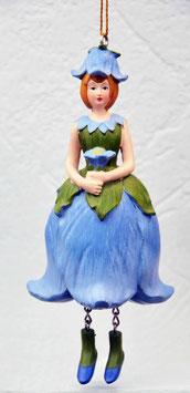 Glockenblumen-Mädchen blau