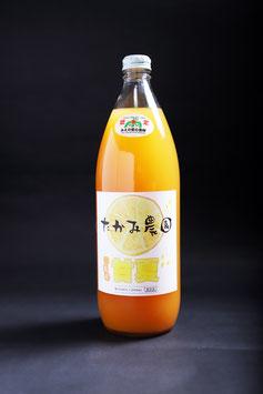 【紅甘夏100%果汁】果汁ビン1リットル|1本、3本、6本、16本