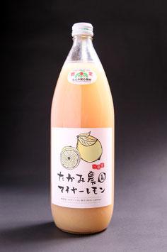 【マイヤーレモン100%果汁】果汁ビン1リットル|1本、3本、6本、16本