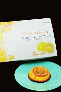 まぁるいレモンのマドレーヌ