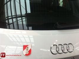 Original 3D Korpsabzeichen der österreichischen Feuerwehr