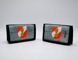 """Geldbörse """"Jugendfeuerwehr"""" im Schlauchdesign und Korpsabzeichen  - Individuelle Beschriftung möglich"""