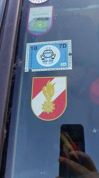 Korpsabzeichen IN für Front-und Heckbereich