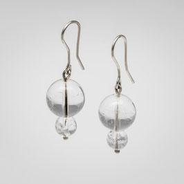 Ohrhänger aus Bergkristall