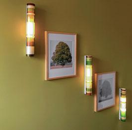 Bambusleuchte - Wandmontage