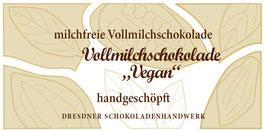 """Vegane Vollmilch Schokoladentafel """"Vollmilch Vegan 46%"""""""