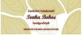 """Zartbitter Schokoladentafel """"Tonka Bohne 60%"""""""