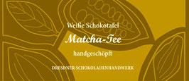 "Weiße Schokoladentafel ""Matcha Tee 33%"""
