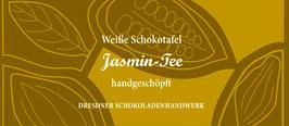 "Weiße Schokoladentafel ""Jasmin Tee 33%"""