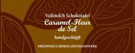 "Vollmilch Schokoladentafel ""Caramel Fleur del Sel 36%"""