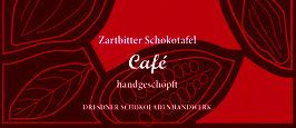 """Zartbitter Schokoladentafel  70% mit """"Cafe"""" oder mit """"Cafe-Cardamome"""""""
