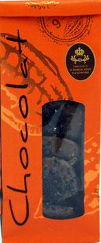 Schokoladentaler Vollmilch schwarzer Sesam