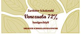 """Zartbitter Schokoladentafel """"Venezuela 72%"""""""