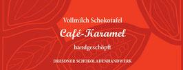 "Vollmilch Schokoladentafel ""Café-Karamel 36%"""