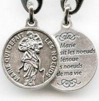 Porte clés rond Sacré Coeur de Jésus