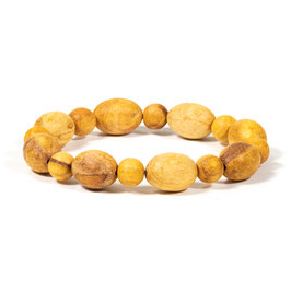 Bracelet Palo Santo perles rondes & ovales