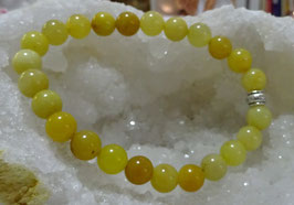 Bracelet opale jaune