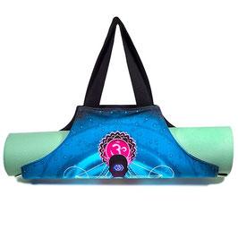 Sac de yoga hexagonal wrap 7 chakras