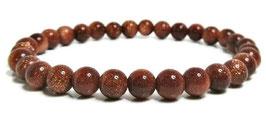 Bracelet goldstone perles 8 mm