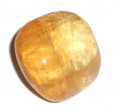 Galet Calcite miel