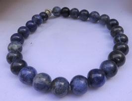 Bracelet Dumortiérite perles 8 mm