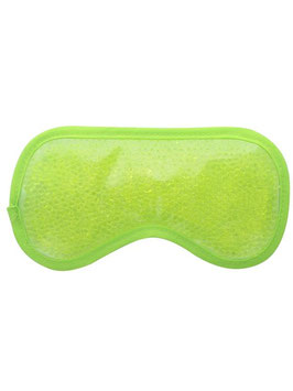 Masque Relaxant pour les Yeux en Billes de gel Vert
