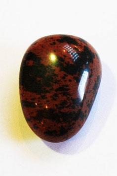 Obsidienne acajou pierre roulée
