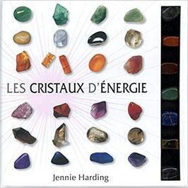 Coffret Cristaux & chakras : Le livre avec 7 cristaux naturels