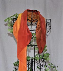 SONNENGOLD - Tuch, Crêpe de Chine, 90 x 90 cm
