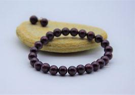 Granat, Armband
