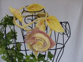CHARMANT - langes pflanzengefärbtes Blütenband