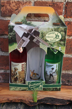Geschenkpackung     Rot & Grün