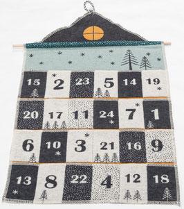 Flanell Kalender JUWEL Weihnachten