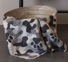 Flanell Hundedecke camouflage