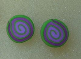 orecchini a lobo spirale