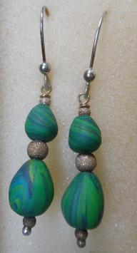 orecchini verdi