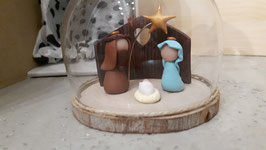 presepe in bicchiere
