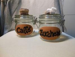 Barattolo conserva caffè-zucchero ctd