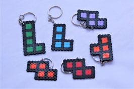 Schlüsselanhänger - Bügelperlen - Tetris