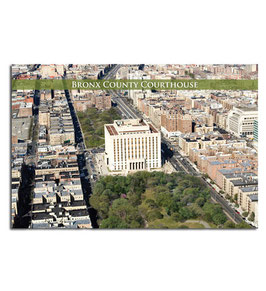 Bronx County Courthouse Postcard