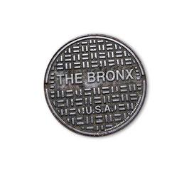 Bronx USA Sewer Cover Sticker