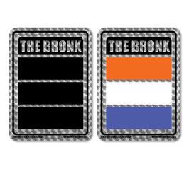 Bronx Flag Holographic Sticker 2-Pack